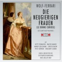 da music Die Neugierigen Frauen (Le Donne Curiose), CD