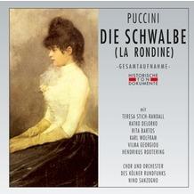 da music Die Schwalbe (La Rondine), CD