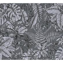 Daniel Hechter Vliestapete Dschungeltapete grau weiß 375205 10,05 m x 0,53 m