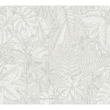 Daniel Hechter Vliestapete Dschungeltapete grau weiß 375201 10,05 m x 0,53 m