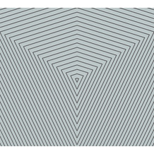 Daniel Hechter Vliestapete geometrische Tapete blau grau 375224 10,05 m x 0,53 m