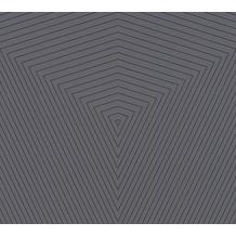Daniel Hechter Vliestapete geometrische Tapete grau bronze 375225 10,05 m x 0,53 m
