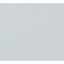 Daniel Hechter Vliestapete geometrische Tapete grau silber 375223 10,05 m x 0,53 m