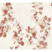 Daniel Hechter Vliestapete Tapete floral creme rot 10,05 m x 0,53 m