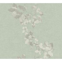 Daniel Hechter Vliestapete Tapete floral grau grün 344951 10,05 m x 0,53 m