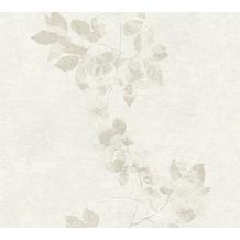 Daniel Hechter Vliestapete Tapete floral grau weiß 10,05 m x 0,53 m