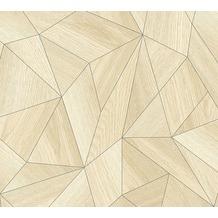 Daniel Hechter Vliestapete Tapete grafisch beige grau 10,05 m x 0,53 m