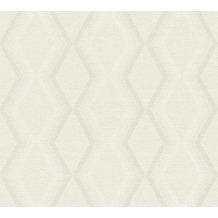 Daniel Hechter Vliestapete Tapete grafisch creme grau weiß 10,05 m x 0,53 m