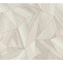 Daniel Hechter Vliestapete Tapete grafisch grau metallic 10,05 m x 0,53 m