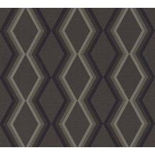 Daniel Hechter Vliestapete Tapete grafisch grau schwarz 362625 10,05 m x 0,53 m