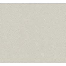Daniel Hechter Vliestapete Unitapete grau weiß 375273 10,05 m x 0,53 m
