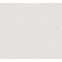 Daniel Hechter Vliestapete Unitapete weiß grau 375211 10,05 m x 0,53 m
