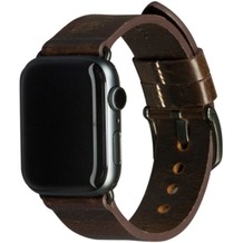dbramante1928 dbramante1928 Bornholm Strap | Apple Watch | 42/44mm | dunkelbraun/grau | AW44DBSG1035