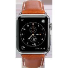 dbramante1928 dbramante1928 Copenhagen Strap, Apple Watch, 38/40mm, tan/silber, AW38GTSI0881