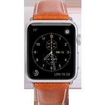 dbramante1928 dbramante1928 Copenhagen Strap, Apple Watch, 42/44mm, tan/silber, AW42GTSI0879