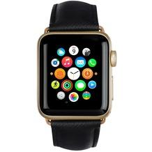 dbramante1928 dbramante1928 MODE. Madrid Strap, Apple Watch, 38/40mm, night schwarz/gold, AW38NBGO5141