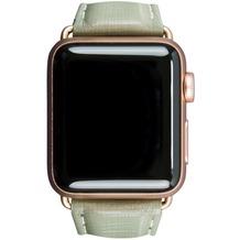dbramante1928 dbramante1928 MODE. Madrid Strap, Apple Watch, 38/40mm, olivgrün/gold, AW38OLGR5197