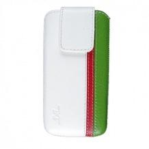 DC Trambolin Montone Case für iPhone 5/5S/SE, weiß-rot-grün garne