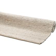 DEKOWE Handwebteppich Amodian elfenbein 60 x 110 cm
