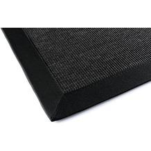 DEKOWE Outdoorteppich Naturino Rips, schwarz Wunschmaß