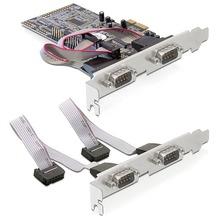 DeLock 4x Seriell PCI Express Card