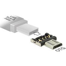 DeLock Adapter für USB A Stecker > Micro USB B Stecker OTG