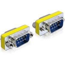DeLock Adapter Gender Changer Sub-D9 Stecker / Stecker