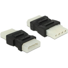 DeLock Adapter Molex 4 Pin Stecker > Molex 4 Pin Buchse