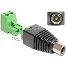 DeLock Adapter Terminalblock > DC 2,5 x 5,5 mm Buchse groß