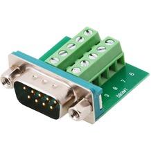 DeLock Adapter Terminalblock > Sub-D 9Pin St
