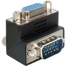 DeLock Adapter VGA Stecker/Buchse rechts gewinkelt