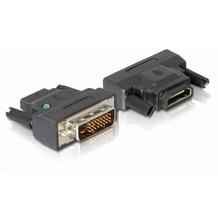 DeLock Adapterstecker DVI-D 24+1 Dual Link <> HDMI