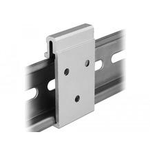 DeLock Aluminium Montageclip für Hutschiene hoch