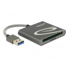 DeLock Card Reader USB 3.0 für Compact Flash oder Micro SD Speicherkarten