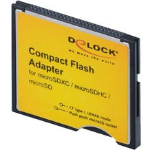 DeLock Compact Flash Adapter > Micro SD