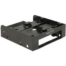 """DeLock Einbaurahmen 5¼ für 4 x 2.5"""" HDD/SSD schwarz"""