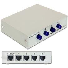 DeLock Ethernet Switch RJ45 10/100 Mb/s 4-Port manuell