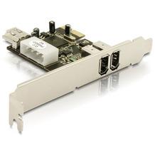 DeLock Fire Wire A 2+1 Port PCI Express Card