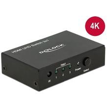DeLock HDMI Switch 3 in > 1 out HDMI 4K UHD Delock