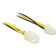 DeLock Kabel Power P4 Stecker > P4 Buchse Verlängerung 30 cm