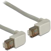 DeLock Kabel RJ45 Cat 5e SFTP gewinkelt/gewinkelt 0,5m