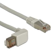 DeLock Kabel RJ45 Cat 6 SSTP gewinkelt/gerade 2,0m