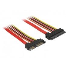 DeLock Kabel SATA 6 Gb/s 22 Pin Stecker > SATA 22 Pin Buchse 151541