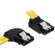 DeLock Kabel SATA 6 Gb/s links/oben Metall 50 cm