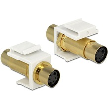 DeLock Keystone Mini-DIN 4 Pin Buchse > Buchse
