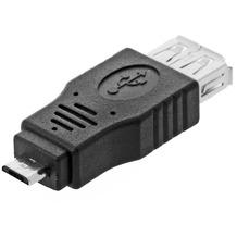 DeLock OTG USB micro B Stecker / USB A Buchse
