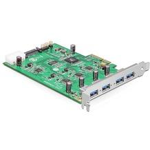 DeLock PCI Express Karte x4 > 4 x extern USB 3.0-A