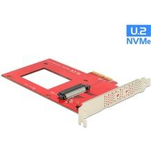 DeLock PCI Express x4 Karte > 1 x intern U.2 NVMe SFF-8639