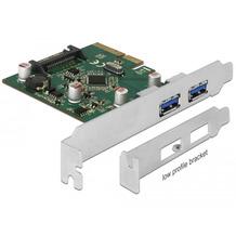 DeLock PCI Express x4 Karte zu 2 x extern USB 3.1 Gen 2 Typ-A Buchse