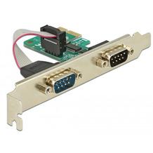 DeLock PCIe x1 > Seriell 2 x RS-232